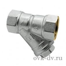 """Фильтр механической очистки сетчатый угловой 1/2"""" HLV"""