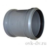 Муфта канализационная PP D 50 соединительная Sinikon