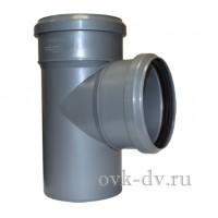 Тройник канализационный PP D 32/32*87 Sinikon