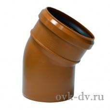 Отвод PP D 110 30 градусов Universal Sinikon