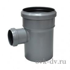 Тройник канализационный PP D 110/50*87 Sinikon