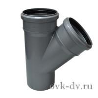 Тройник канализационный PP D 32/32*45 Sinikon