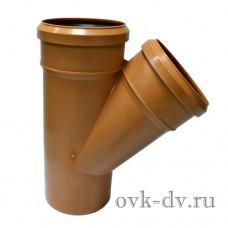 Тройник PP D 110/110*45 Universal Sinikon