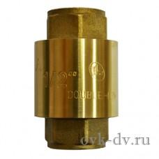 """Клапан обратный с латунным механизмом 1""""FF Double-Lin"""