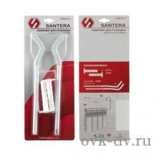 Кронштейн анкерный радиаторный с дюбелем 230*9,2 (блистер) Santera