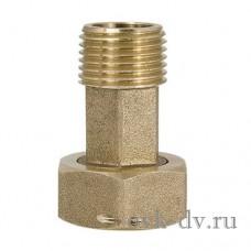 """Соединение для водосчётчика с накидной гайкой и прокладкой 1/2""""M x 3/4""""F ProFactor"""