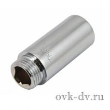 """Удлинитель трубный латунный 1/2"""" FM x 15 мм Timo"""
